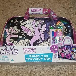 New! My Little Pony Design 'N go travel bag